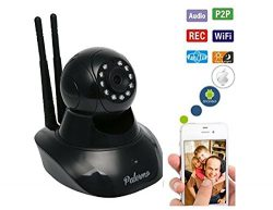 The Best HD Video Baby Monitor Wifi Surveillance Camera 2 Way Audio, Infrared Night Vision! Be C ...