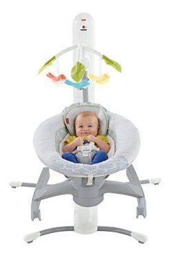 Fisher-Price 4-in-1 Smart Connect Cradle 'N Swing