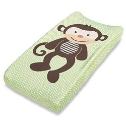 Summer Infant Ultra Plush Character Changing Pad Cover, Monkey
