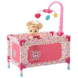 Baby Alive Play Yard with Mobile