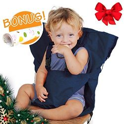 CHRISTMAS GIFT Baby HighChair Harness   Portable Travel Safety Belt Booster Feeding High Chair S ...