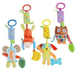 HAHA Baby Soft Hanging Rattle Toy Infant Stroller Car Seat Crib Pram Hanging Bell Puppet Toys Cu ...