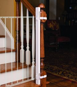 EZ-Fit: 36″ Baby Gate Walk Thru Adapter Kit for Stairs + Child and Pet Safety – Prot ...