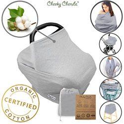 Organic Cotton Nursing Breastfeeding Cover Scarf – Baby Car Seat Canopy, Canopies, Shoppin ...