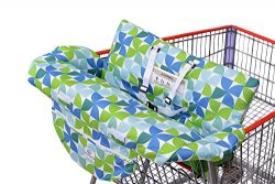 BLOWOUT: Costco Sized Grocery Shopping Cart Baby Seat Cover, Restaurant High Chair – Inser ...