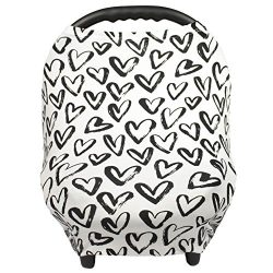 Breastfeeding Cover – Nursing Cover scarf – Infant Car Seat Canopy, Shopping Cart, Strolle ...