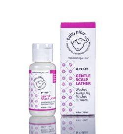 Baby Pibu Natural Gentle Scalp Lather for Cradle Cap, 1.25 Oz, Created By a Dermatologist Mom