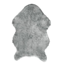Slaxry Faux Sheepskin Rug Carpet with Super Soft Fluffy Thick Fur fits in Living Room Bedroom or ...