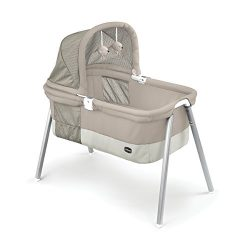 Chicco LullaGo Deluxe Bassinet, Taupe
