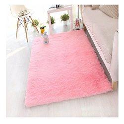 Anti-Skid Shaggy Area Rug Rectangular Braided Rug Fluffy Rugs Multi Colors Carpet Floor Mats Bes ...