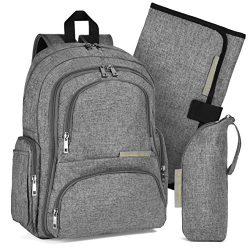 YaYa's Unisex Diaper Bag Backpack – New Handmade Design by Gracefully YaYa with Stro ...