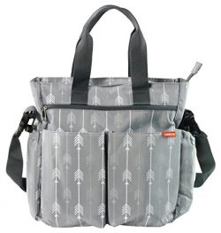 Diaper Bag for Baby By Zohzo – Diaper Tote Bag With Changing Pad, Insulated Pockets, Wipes ...