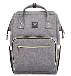 Diaper Bag-Multi-Function Large Capacity Baby Bag Fashion Mummy Bag,Waterproof Travel Backpack N ...
