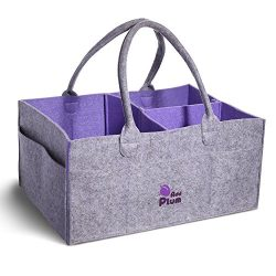 Baby Shower Diaper Caddy – Nursery Storage Bins for Changing Table Organizer – Porta ...