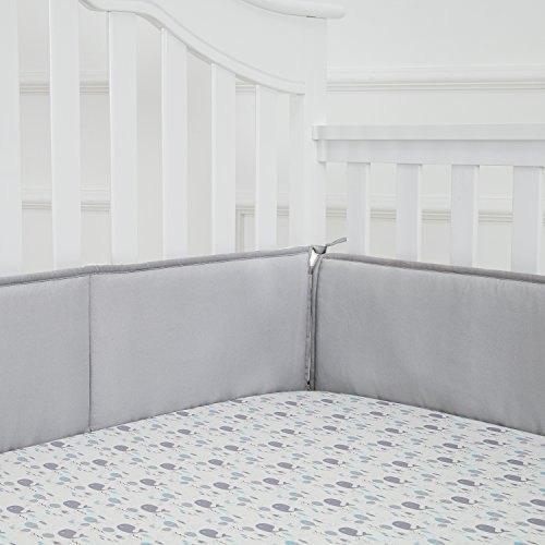 how to make breathable crib bumper pads