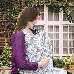 Wsky Nursing Cover – Baby Best Breastfeeding – Infant Feeding Cover – Full Cov ...