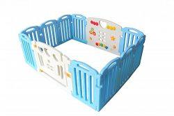 Baby Playpen Kids 14 Panel Safety Play Center Yard Home Indoor Outdoor Pen
