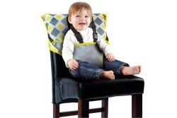 Cozy Cover Easy Seat – Portable Travel High Chair and Safety Seat for Infants and Toddlers (Char ...