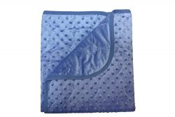 Quilted Newborn Baby Girl Blanket Swaddling Receiving Wrap Snuggle Security Stroller Car – ...
