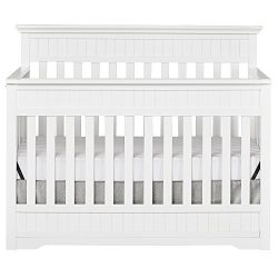 Dream On Me Chesapeake 5-In-1 Convertible Crib, Snow Fall