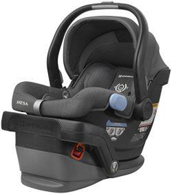 UPPAbaby MESA Infant Car Seat, Charcoal Melange Wool Version, Jordan