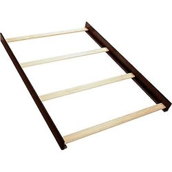 Full Size Conversion Kit Bed Rails for Baby Cache Cribs – Espresso