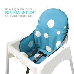 Ikea Antilop Highchair Seat Covers & Cushion by AT, Washable Foldable Baby Highchair Cover I ...