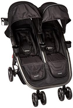 Combi Lightweight Double Unique Travel System Full Size Twin Umbrella Stroller Compatible with t ...