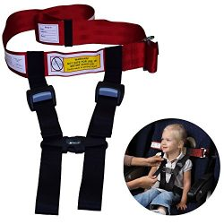 Child Safety Harness Airplane Travel Clip Strap.The Travel Harness Safety System Will Protect Yo ...