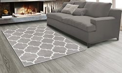 Sweet Home Stores King Collection Moroccan Trellis Design Area Rug, 5'3″ X 7'0 ...