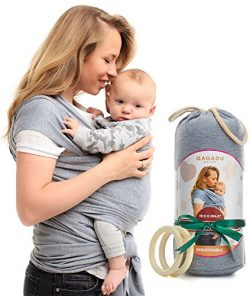 Baby Wrap Carrier – Ring Sling for Newborn and Infant – Nursing Cover & Blanket  ...