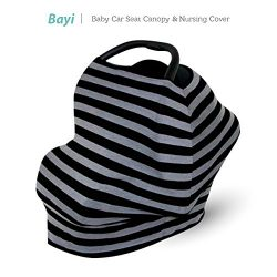 Baby Car Seat Cover Multi – Use Infant Covers Shopping Cart High Chair Stroller – Be ...
