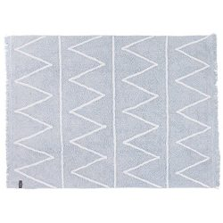 Lorena Canals Hippy Soft Machine Washable Kids Rug, 4 x 5 Feet, Handmade From 100% Natural Cotto ...