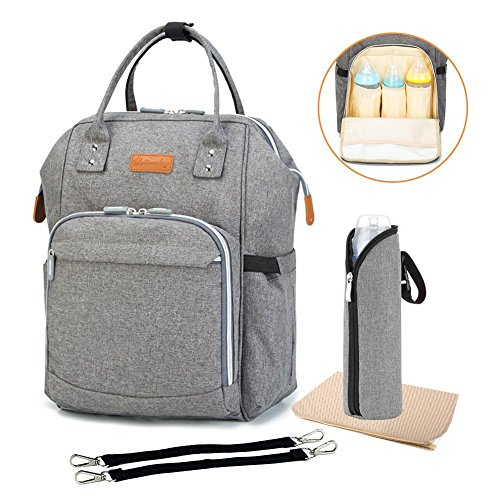 diaper bag multi function travel backpack nappy bags nappy tote bag stroller straps for baby. Black Bedroom Furniture Sets. Home Design Ideas