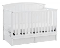 Storkcraft Steveston 4-in-1 Convertible Crib, White