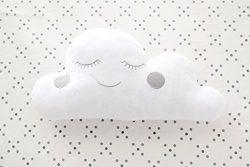 My Baby Sam Cloud Pillow, Grey