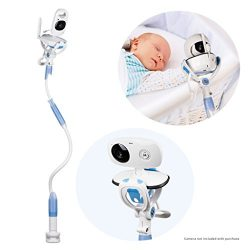 FlexxiCam Universal Baby Camera Mount, Infant Video Monitor Holder and Shelf – Flexible Ca ...
