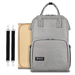 Diaper Bag Backpack Baby Bag – MOSPRO Multi Function Large Capacity Waterproof Travel Back ...