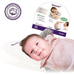 Bassinet Wedge Pillow | Improve Baby Sleep Position | Reflux and Nasal Congestion Reducer | Wate ...