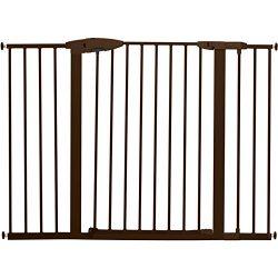 Munchkin Easy Close XL Metal Baby Gate, 29.5″ – 51.6″ Wide, Bronze, Model MK00 ...