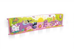Fisher-Price Woodland Friends Twinkling Lights Crib Rail Soother, Pink