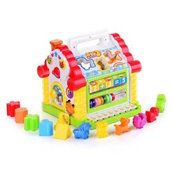 TOYK Kids toys Musical Colorful Baby Fun House, Many Kinds Of Music, – girls boys toddlers ...