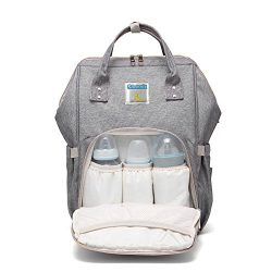 Soonnix Diaper Bag Backpack,Multi-Function Waterproof Travel Backpack Nappy Bags for Baby Care L ...