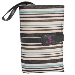 Portable Baby Diaper Clutch Changing Pad Station – Stain-resistant & Waterproof with W ...