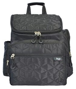Terra Baby Diaper Bag Travel Backpack with Stroller Straps, Changing Pad and Wipe Case Pocket Mu ...