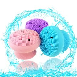 Baby Bath Silicone Brush DermaFrida The SkinSoother Baby Essential for Dry Skin, Cradle Cap and  ...