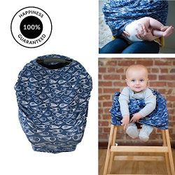 Sonsi – Premium Nursing/Breastfeeding Covers | Combo Baby Car Seat Canopy, Infinity Scarf, ...