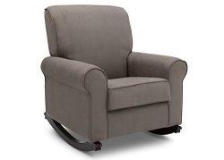 Delta Furniture Rowen Upholstered Rocking Chair, Graphite