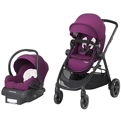 Maxi Cosi Zelia 5 In 1 Modular Travel System With Mico 30 Car Seat Violet Caspia Babiesme