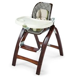 Summer Infant Bentwood Highchair, Goose Down Gray